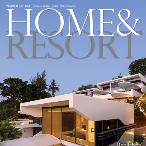 Verde featured in Home and Resort Magazine.